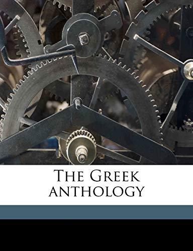 9781176648081: The Greek anthology Volume 2