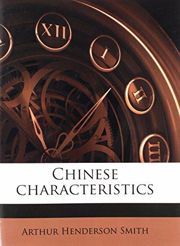 9781176696884: Chinese characteristics