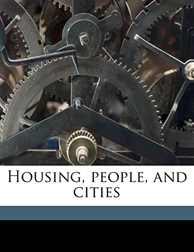 9781176709188: Housing, people, and cities