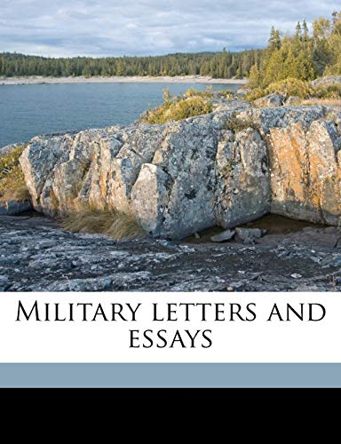 9781176840041: Military letters and essays