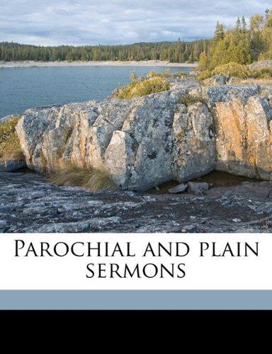 9781176880528: Parochial and plain sermons Volume 7