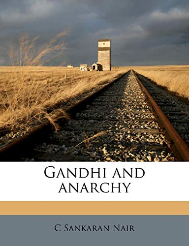 9781177306867: Gandhi and anarchy