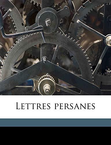 9781177596688: Lettres persanes