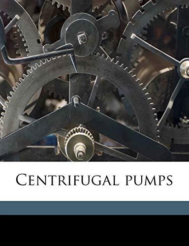 9781177625838: Centrifugal pumps