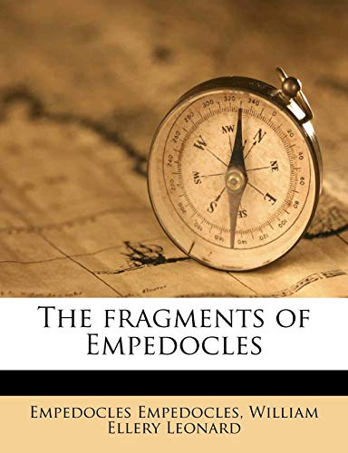 9781177705981: The fragments of Empedocles