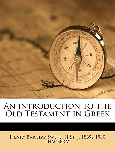 9781177758031: An introduction to the Old Testament in Greek