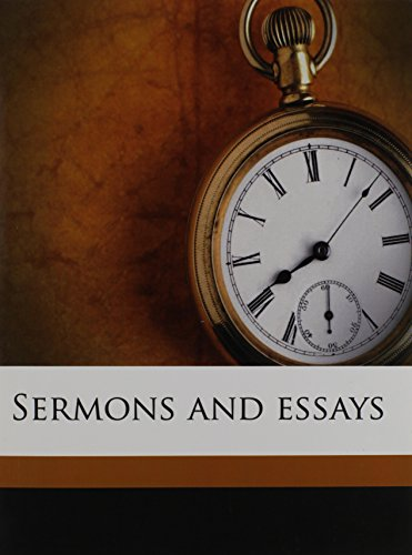 9781178064032: Sermons and essays