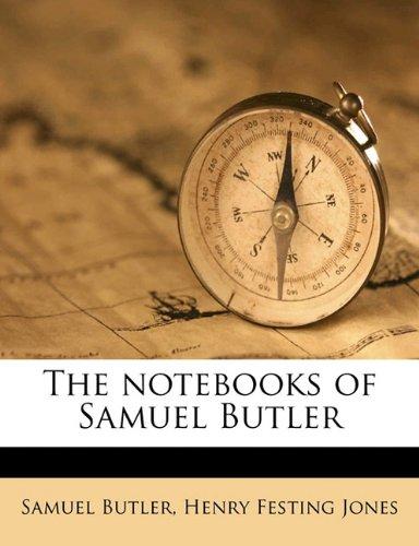 9781178356106: The notebooks of Samuel Butler
