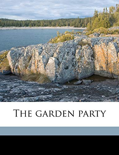 9781178372588: The garden party
