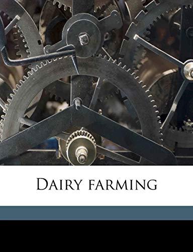 9781178385526: Dairy farming