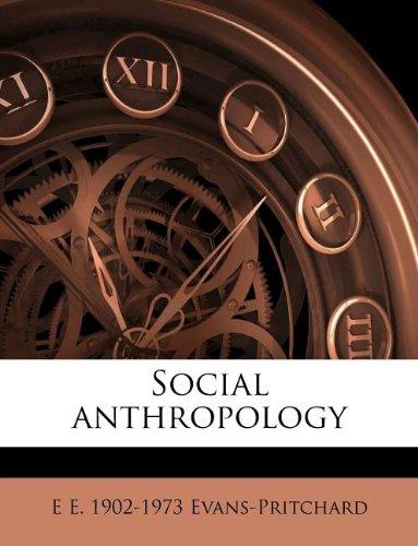 9781179886930: Social anthropology