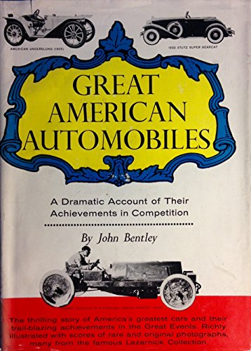 9781199061812: Great American Automobiles