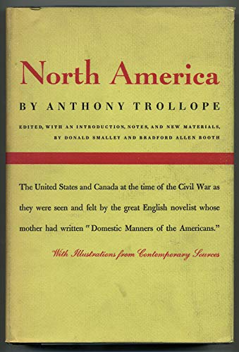 North America;: Trollope, Anthony