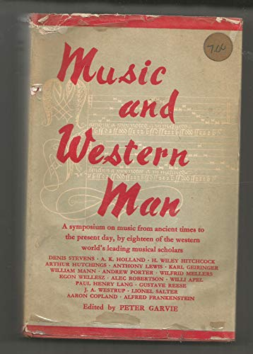 9781199111173: Music and Western man: The Canadian Broadcasting Corporation series
