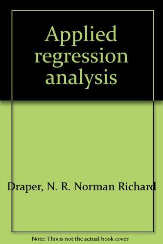 9781199147219: Applied Regression Analysis