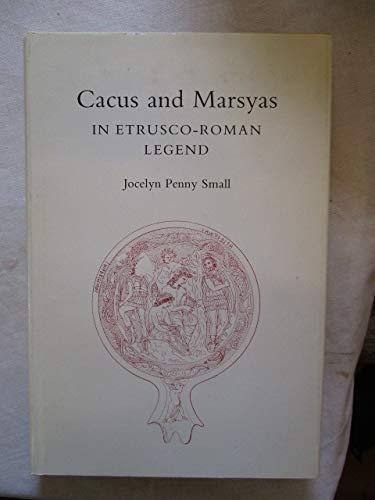 9781199153173: Cacus & Marsyas in Entrusco Roman Legend