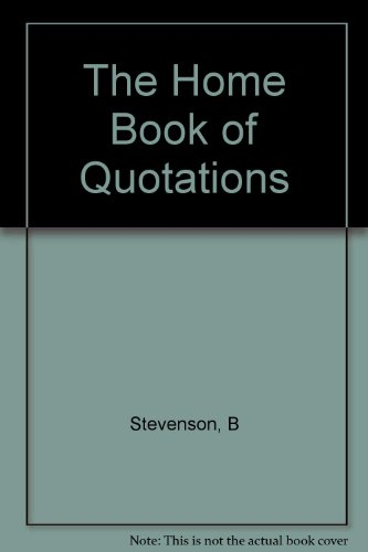 9781199226457: The Home Book Of Bible Quotations