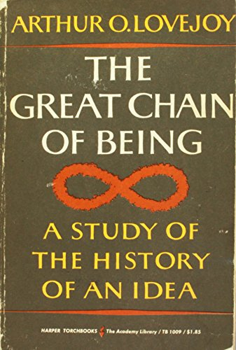 9781199236418: The Great Chain of Being: A Study of The History on an Idea (Harper Torchbooks)