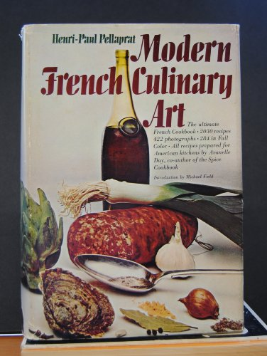 9781199239280: Modern French Culinary Art