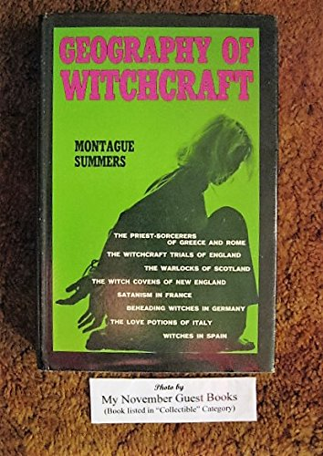 9781199258687: The geography of witchcraft
