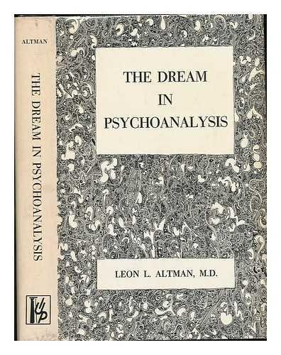 9781199258922: The Dream in Psychoanalysis