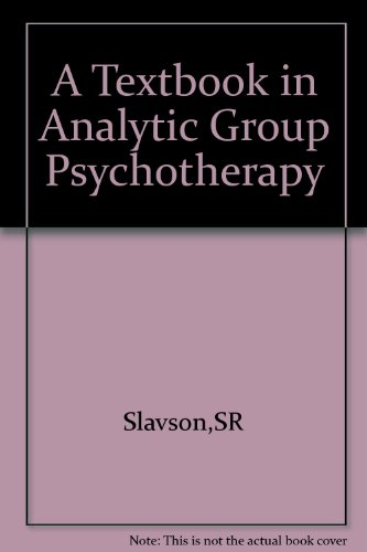9781199371751: A textbook in analytic group psychotherapy
