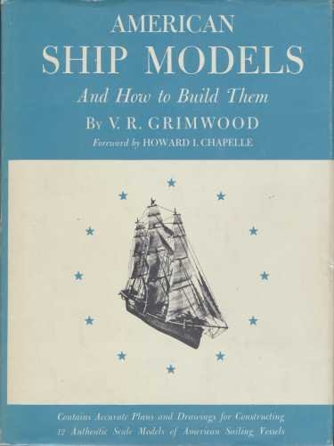 9781199384805: American Ship Models and How to Build Them