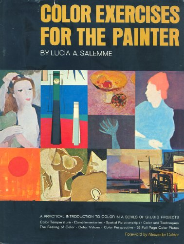 9781199389480: Color exercises for the painter,