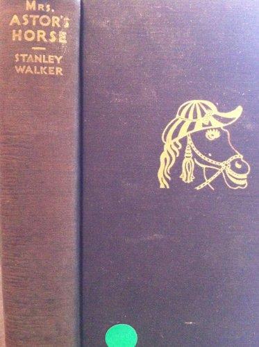 9781199418197: Mrs. Astor's horse,