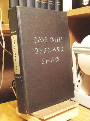 9781199490117: Days With Bernard Shaw
