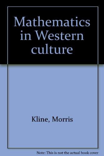 9781199526434: Mathematics in Western culture