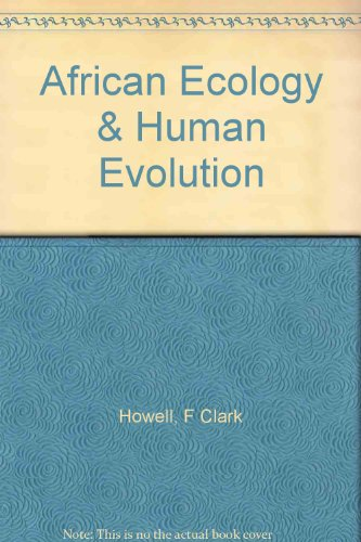 9781199547675: African Ecology and Human Evolution