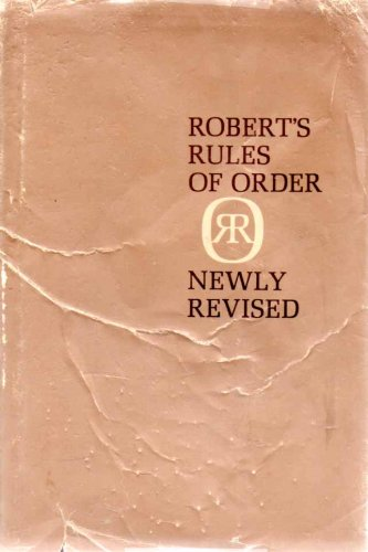 9781199663016: Robert's Rules Of Order