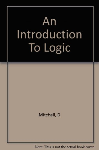 9781199679451: An Introduction to Logic