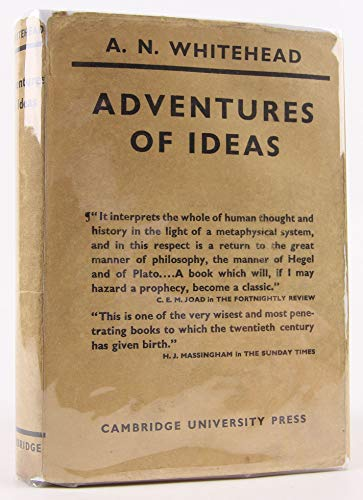 9781199732958: Adventures of Ideas [Gebundene Ausgabe] by Whitehead, AN