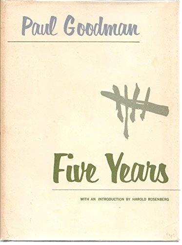 9781199755599: Five years