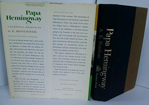 9781199764621: Papa Hemingway