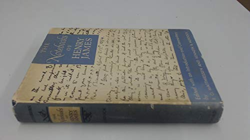 9781199775481: The Notebooks of Henry James