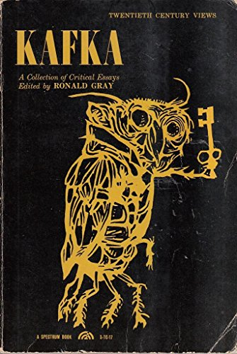 9781199778307: Kafka; a Collection of Critical Essays