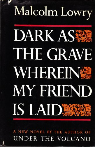 9781199791597: Dark as the grave. Wherein my friend is laid