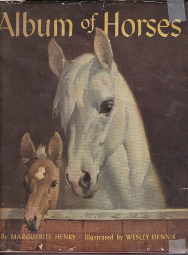 9781199811783: Album of horses;