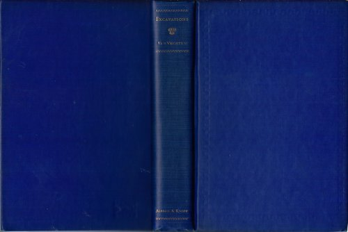 Excavations a Book of Advocacies: Van Vechten, Carl