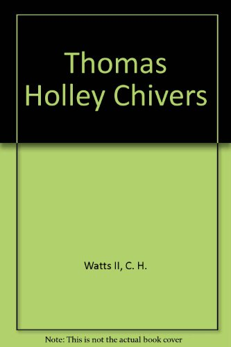 9781199884848: Thomas Holley Chivers