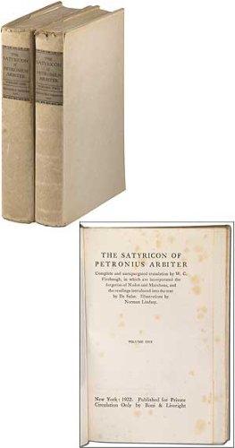 9781199919915: The Satyricon of Petronius Arbiter