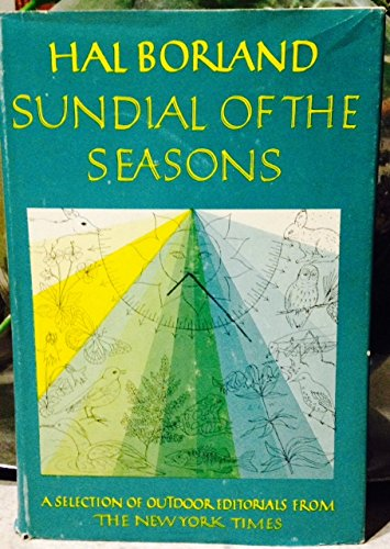Sundial of the Seasons (9781199972965) by Hal Borland