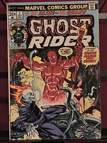 9781201029007: The Most Supernatural Superhero of All!: Ghost Rider