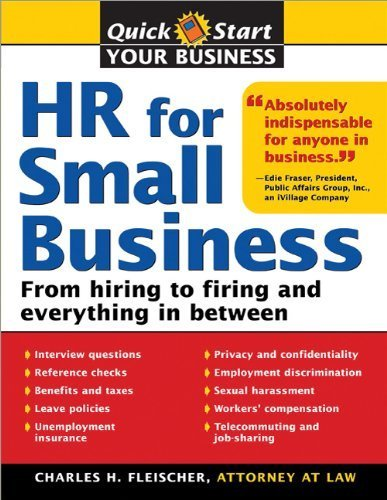 9781223013114: Hr For Small Business