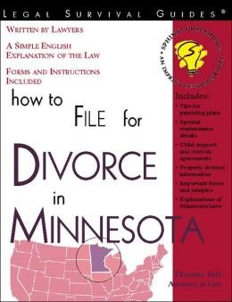 9781223013671: How to File for Divorce in Minnesota: With Forms (Legal Survival Guides)