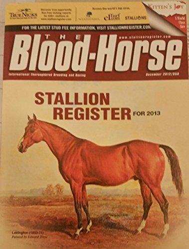 Stallion Register 2013: Blood-Horse Publications
