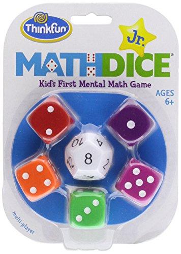9781223027630: Math Dice Jr.: Kid's First Mental Math Game